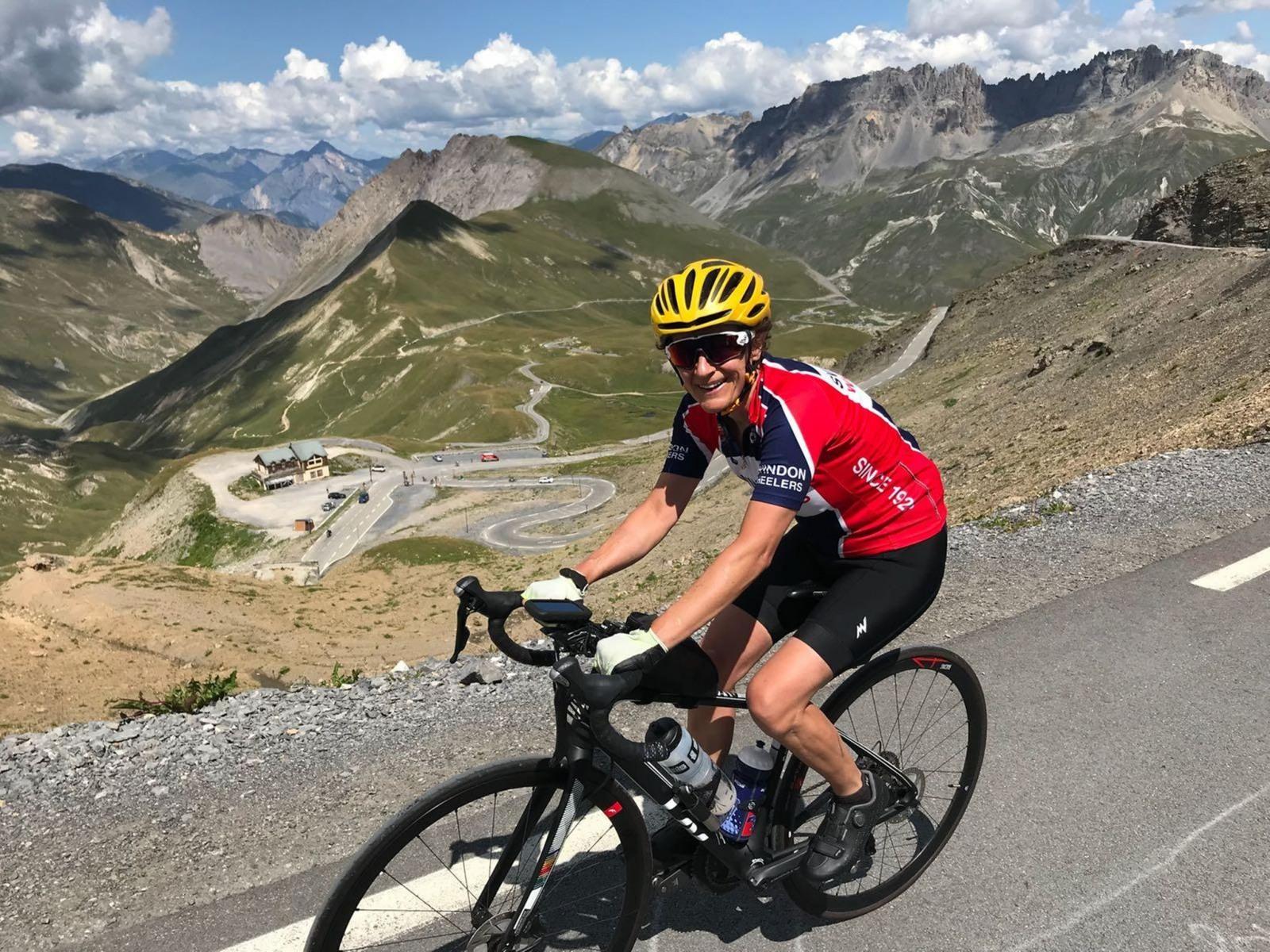 Wheeler in the Alps