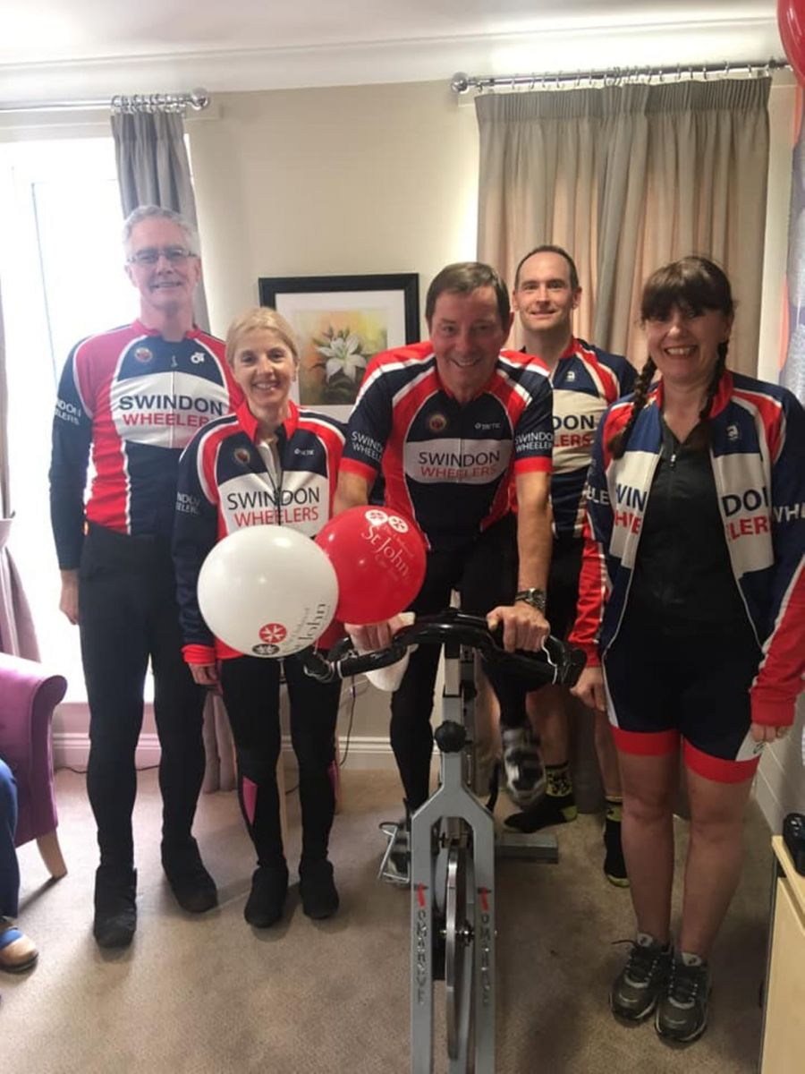 Charity 24 hour spin